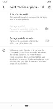 Google Pixel 3a - Internet et connexion - Partager votre connexion en Wi-Fi - Étape 6