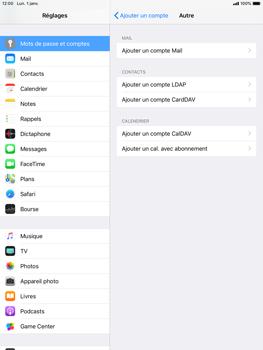 Apple iPad Mini 3 - iOS 12 - E-mail - Configuration manuelle - Étape 7