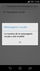 Sony Xperia E3 - Messagerie vocale - configuration manuelle - Étape 10