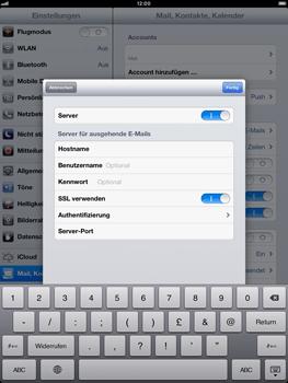 Apple iPad mini - E-Mail - Manuelle Konfiguration - Schritt 21