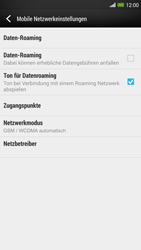 HTC One Max - Netzwerk - Netzwerkeinstellungen ändern - Schritt 5