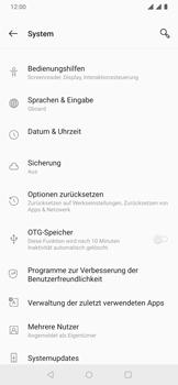 OnePlus 6T - Android Pie - Fehlerbehebung - Handy zurücksetzen - Schritt 7