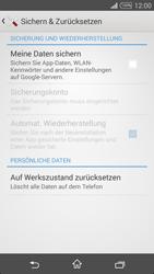 Sony D5103 Xperia T3 - Fehlerbehebung - Handy zurücksetzen - Schritt 7