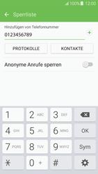 Samsung Galaxy J5 (2016) - Anrufe - Anrufe blockieren - 0 / 0