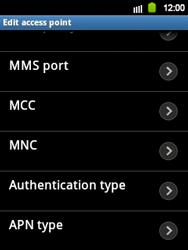 Samsung S5360 Galaxy Y - MMS - Manual configuration - Step 10