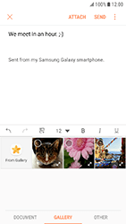 Samsung Galaxy Xcover 4 - E-mail - Sending emails - Step 12