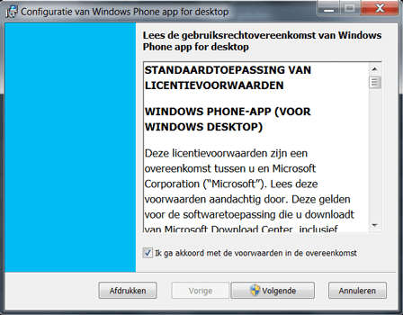 Microsoft Lumia 640 XL - Software - Download en installeer PC synchronisatie software - Stap 3
