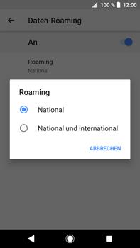 Sony Xperia XA2 Ultra - Ausland - Im Ausland surfen – Datenroaming - 10 / 14