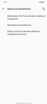 OnePlus 7T - Aller plus loin - Restaurer les paramètres d'usines - Étape 6