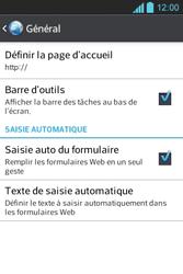 LG E610 Optimus L5 - Internet - configuration manuelle - Étape 21