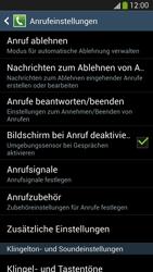 Samsung Galaxy S4 LTE - Anrufe - Rufumleitungen setzen und löschen - 6 / 12