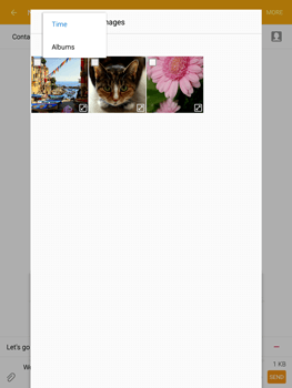 Samsung T815 Galaxy Tab S2 9.7 - MMS - Sending pictures - Step 20