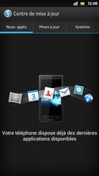 Sony Xperia S - Logiciels - Installation de mises à jour - Étape 7