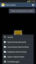 Samsung I9505 Galaxy S4 LTE - SMS - Manuelle Konfiguration - Schritt 5