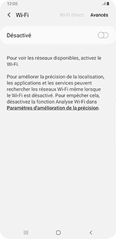 Samsung Galaxy S9 Plus - Android Pie - Wifi - configuration manuelle - Étape 5