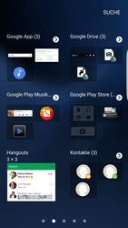 Samsung Galaxy S7 Edge - Startanleitung - Installieren von Widgets und Apps auf der Startseite - Schritt 4