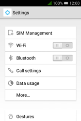 Alcatel Pixi 3 (3.5) - Network - Manual network selection - Step 4