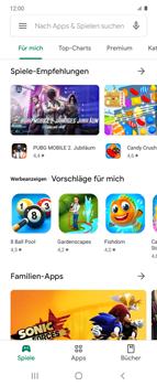 Samsung Galaxy Z flip - Apps - Nach App-Updates suchen - Schritt 7