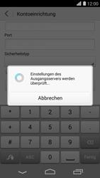Huawei Ascend P7 - E-Mail - Konto einrichten - Schritt 18
