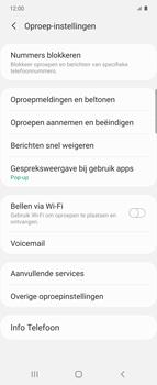 Samsung Galaxy Z Flip - voicemail - handmatig instellen - stap 6