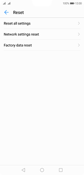 Huawei P20 - Mobile phone - Resetting to factory settings - Step 6