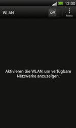 HTC One V - WLAN - Manuelle Konfiguration - 5 / 9