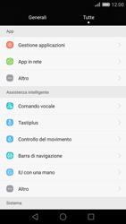 Huawei Ascend P8 - Applicazioni - Come disinstallare un