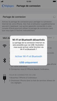 Apple iPhone 6 Plus - iOS 11 - Internet et connexion - Partager votre connexion en Wi-Fi - Étape 7