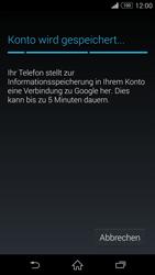 Sony D6603 Xperia Z3 - Apps - Konto anlegen und einrichten - Schritt 19