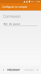 Crosscall Trekker M1 Core - E-mail - Configuration manuelle - Étape 9