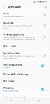 Samsung Galaxy S8 - Internet e roaming dati - Come verificare se la connessione dati è abilitata - Fase 5