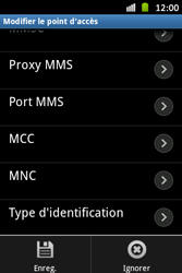 Samsung S6500D Galaxy Mini 2 - MMS - configuration manuelle - Étape 15