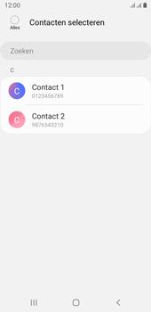 Samsung galaxy-j6-sm-j600fn-ds-android-pie - Contacten en data - Contacten kopiëren van toestel naar SIM - Stap 9