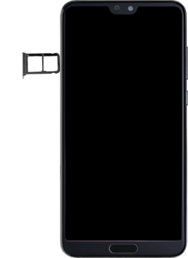 Huawei P20 Pro - SIM-Karte - Einlegen - Schritt 3
