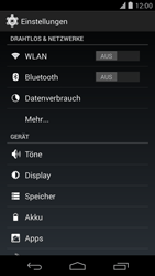 LG D821 Google Nexus 5 - Netzwerk - Netzwerkeinstellungen ändern - Schritt 4