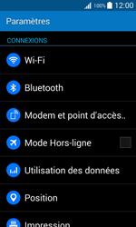 Samsung Galaxy Trend 2 Lite - Internet et connexion - Utiliser le mode modem par USB - Étape 4