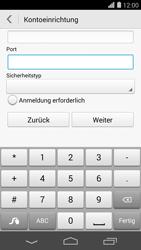 Huawei Ascend P7 - E-Mail - Konto einrichten - Schritt 17