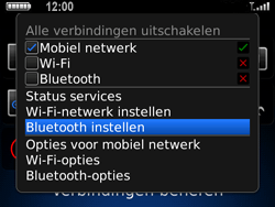 BlackBerry 9700 Bold - bluetooth - aanzetten - stap 4
