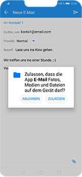 Huawei Honor Play - E-Mail - E-Mail versenden - 12 / 18