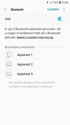 Samsung Galaxy S7 - Android Oreo - Bluetooth - headset, carkit verbinding - Stap 7