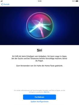 Apple iPad Air 2 - iOS 11 - Persönliche Einstellungen von einem alten iPhone übertragen - 22 / 29