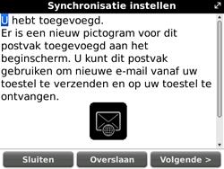 BlackBerry 9700 Bold - E-mail - Handmatig instellen - Stap 11