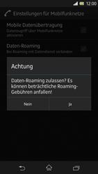 Sony Xperia Z - Ausland - Im Ausland surfen – Datenroaming - Schritt 9