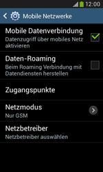Samsung Galaxy Trend Plus - Netzwerk - Netzwerkeinstellungen ändern - 8 / 8