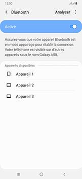 Samsung Galaxy A50 - Bluetooth - Jumelage d