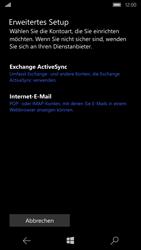 Microsoft Lumia 650 - E-Mail - Konto einrichten - Schritt 8