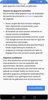 Huawei P20 Pro - Applicaties - Account instellen - Stap 14