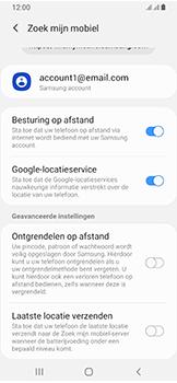 Samsung Galaxy A40 - Toestel - stel Zoek mijn mobiel in - Stap 8