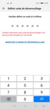 Huawei Nova 5T - Sécuriser votre mobile - Activer le code de verrouillage - Étape 6