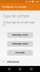 Acer Liquid Z320 - E-mail - configuration manuelle - Étape 7